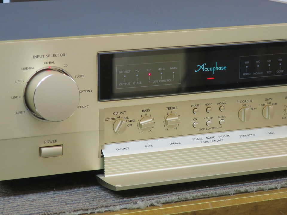 C-2110 Accuphase アキュフェーズ コントロールアンプ(トランジスター) 画像e