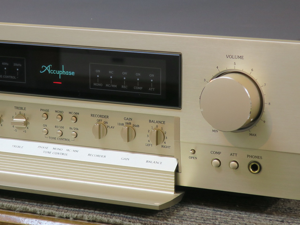 C-2110 Accuphase アキュフェーズ コントロールアンプ(トランジスター) 画像f