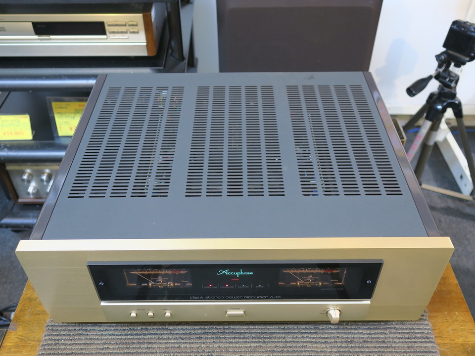 A-30 Accuphase アキュフェーズ パワーアンプ(トランジスター) 画像d