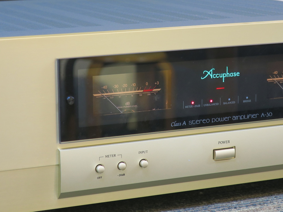 A-30 Accuphase アキュフェーズ パワーアンプ(トランジスター) 画像e
