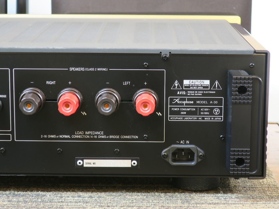 A-30 Accuphase アキュフェーズ パワーアンプ(トランジスター) 画像i