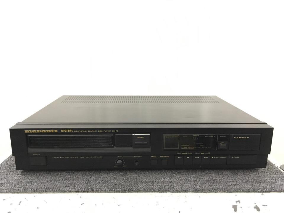 CD-75 marantz 画像