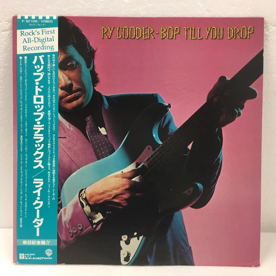 BOP TILL YOU DROP/RY COODER RY COODER  LP洋楽 画像a