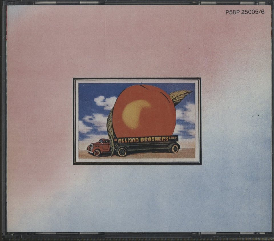 EAT A PEACH/THE ALLMAN BROTHERS BAND THE ALLMAN BROTHERS BAND  CD洋楽 画像a