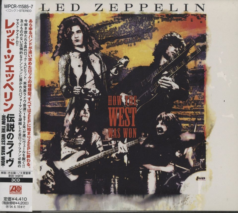 HOW THE WEST WAS WON/LED ZEPPELIN LED ZEPPELIN  CD洋楽 画像a