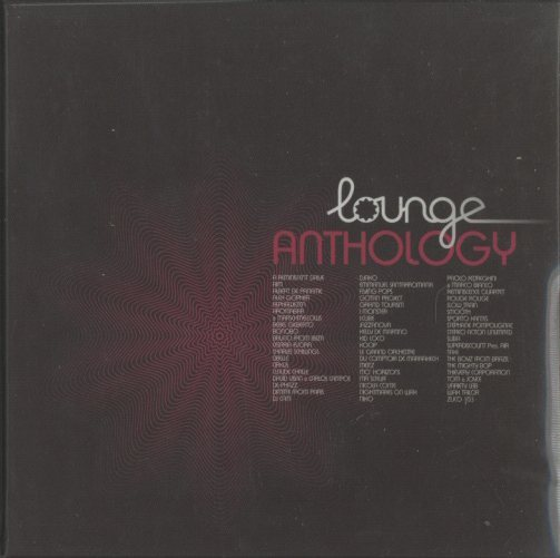 LOUNGE ANTHOLOGY V.A. 画像