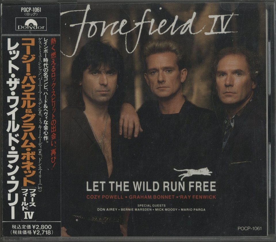 LET THE WILD RUN FREE/FORCEFIELD 4 FORCEFIELD 4  CD洋楽 画像a