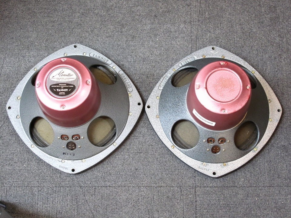 "Monitor RED 10"" TANNOY 画像"