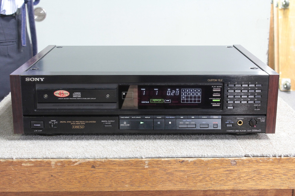 CDP-338ESD SONY ソニー CDプレーヤー 画像a