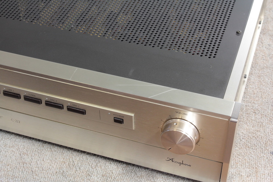 C-222 Accuphase アキュフェーズ コントロールアンプ(トランジスター) 画像i