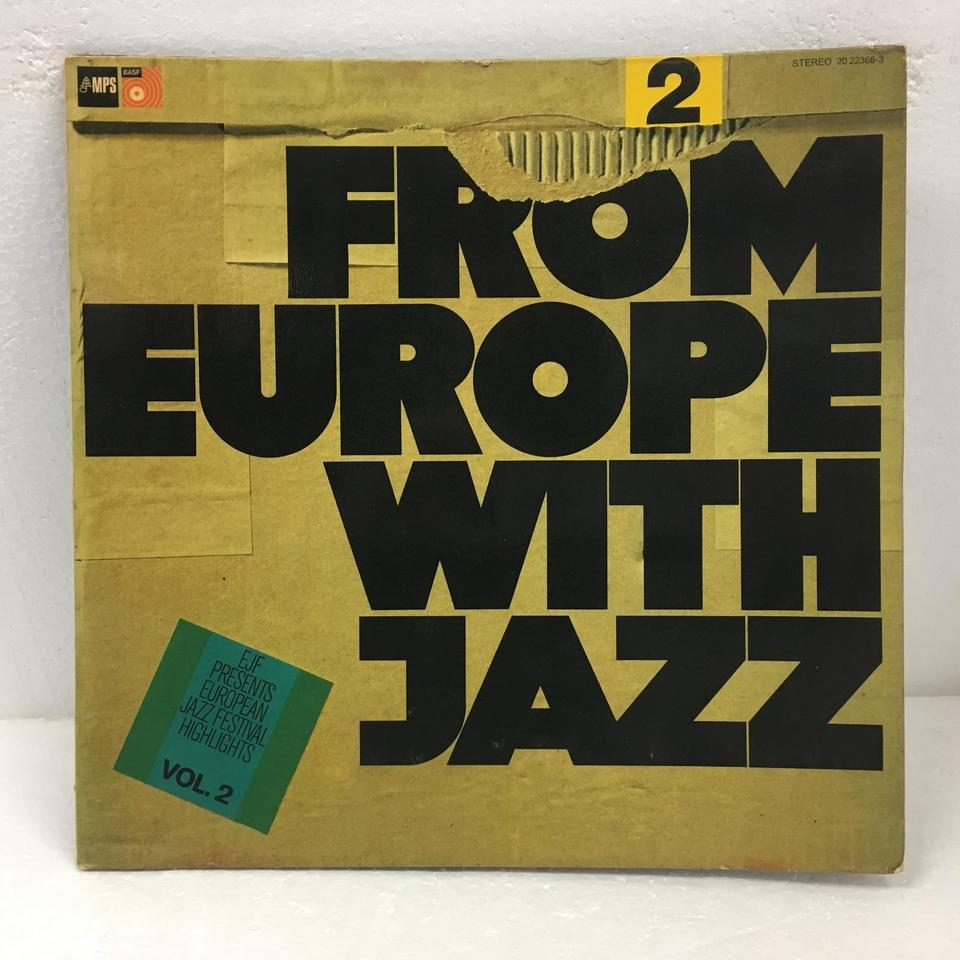 FROM EUROPE WITH JAZZ VOL.2 V.A. 画像