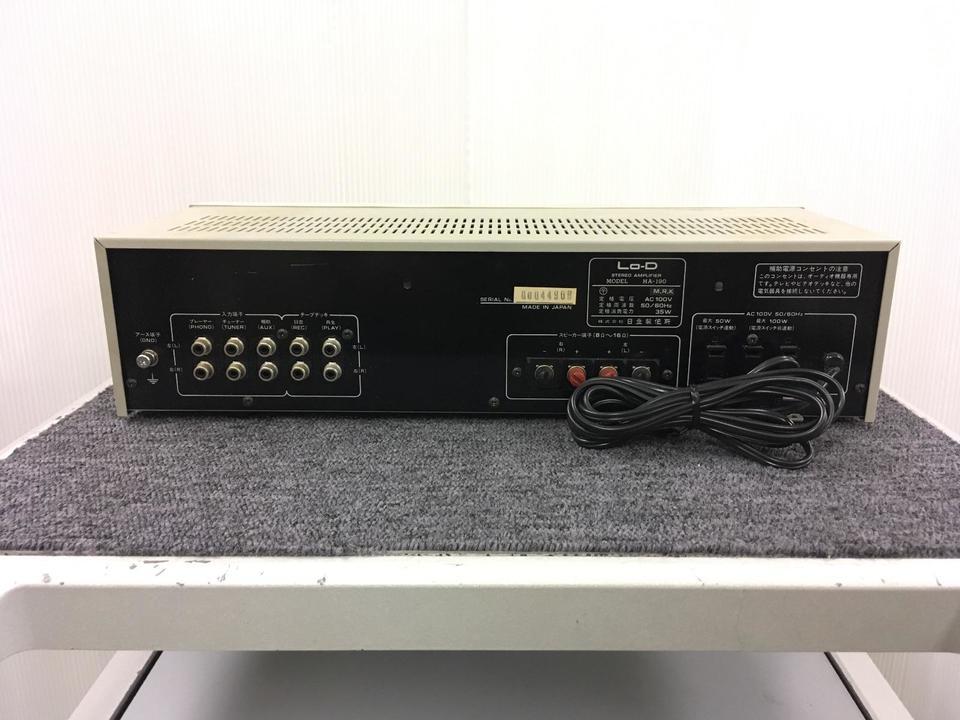 HA-190 Lo-D 画像