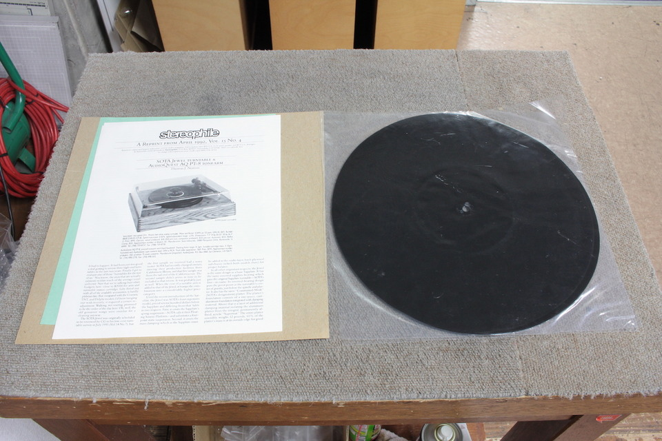 Alternativa para tapetes de gira discos E