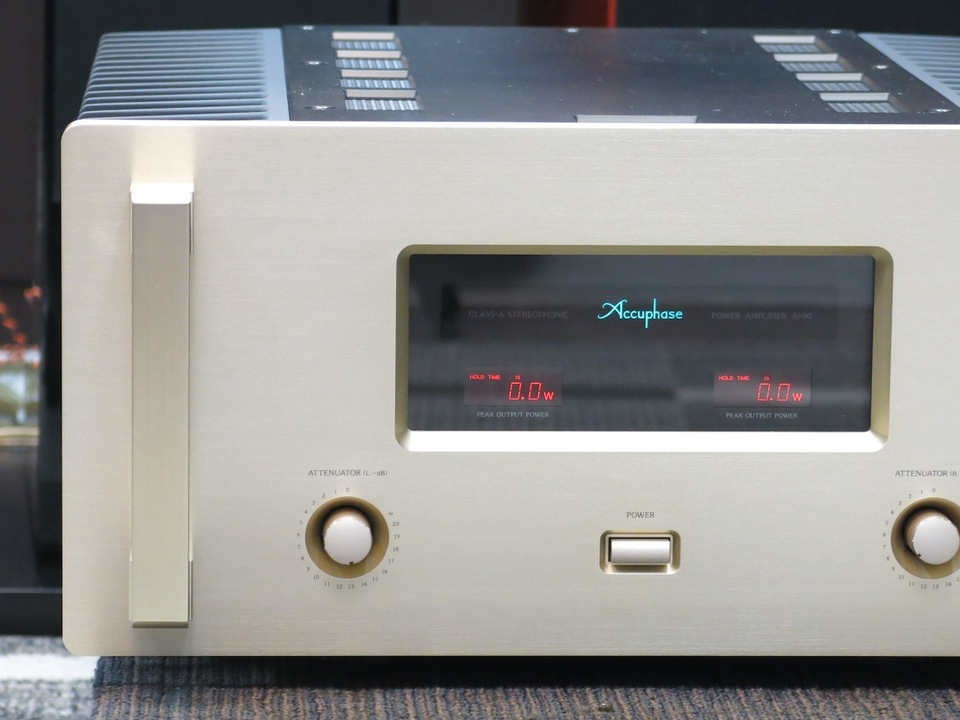 A-50 Accuphase アキュフェーズ パワーアンプ(トランジスター) 画像d