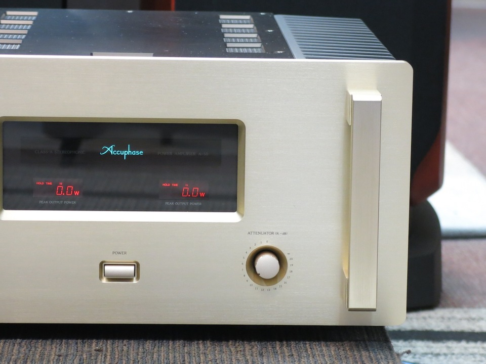 A-50 Accuphase アキュフェーズ パワーアンプ(トランジスター) 画像e