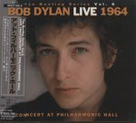 LIVE 1964 CONCERT AT PHILHARMONIC HALL/BOB DYLAN