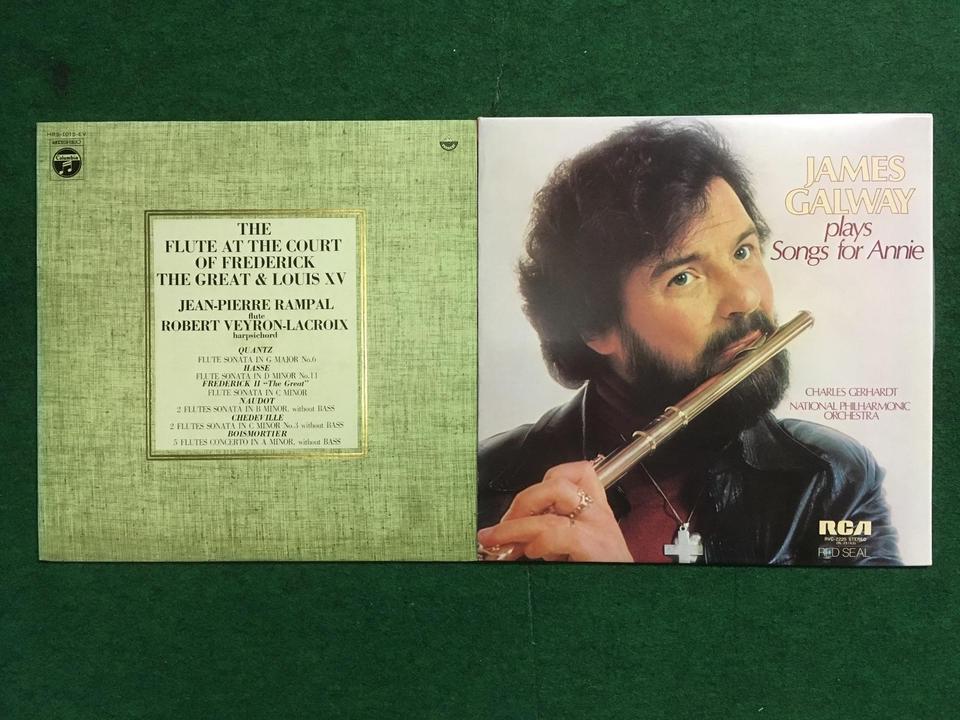 クラシック フルート10枚セット  画像