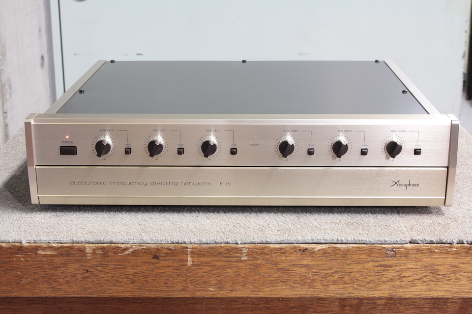 F-15 Accuphase アキュフェーズ チャンネルデバイダー 画像a