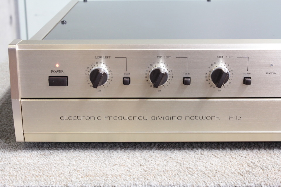 F-15 Accuphase アキュフェーズ チャンネルデバイダー 画像e