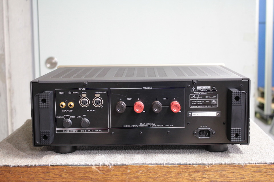 A-20V Accuphase アキュフェーズ パワーアンプ(トランジスター) 画像d