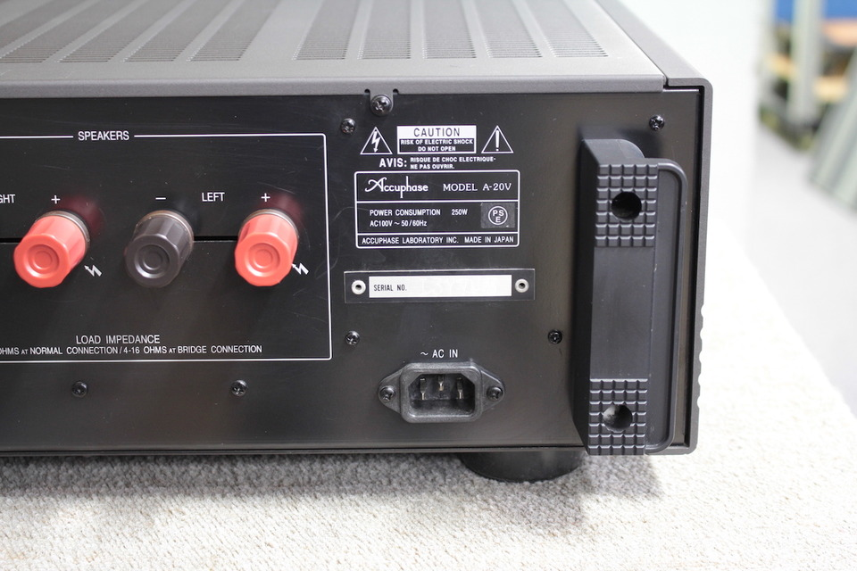A-20V Accuphase アキュフェーズ パワーアンプ(トランジスター) 画像h