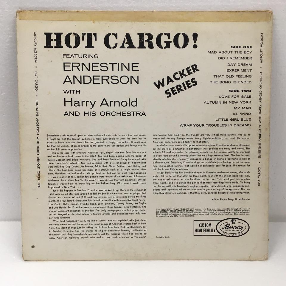 HOT CARGO/ERNESTINE ANDERSON  image_b