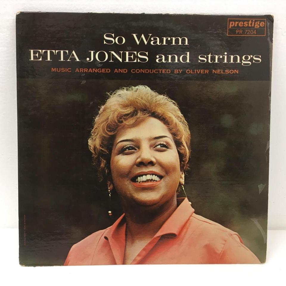 SO WARM/ETTA JONES AND STRINGS ETTA JONES 画像