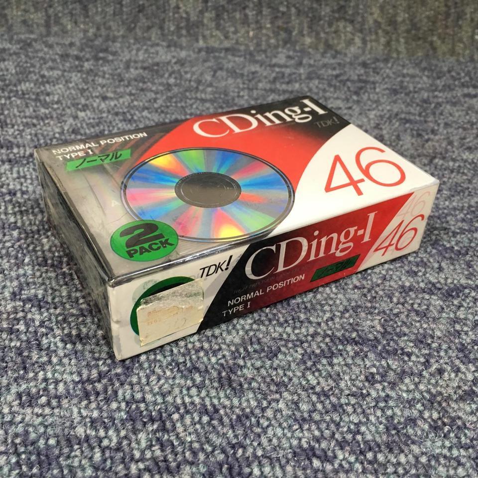 【未開封】CDing-I 46(2パック) TDK 画像