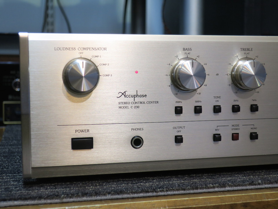 C-230 Accuphase アキュフェーズ コントロールアンプ(トランジスター) 画像f