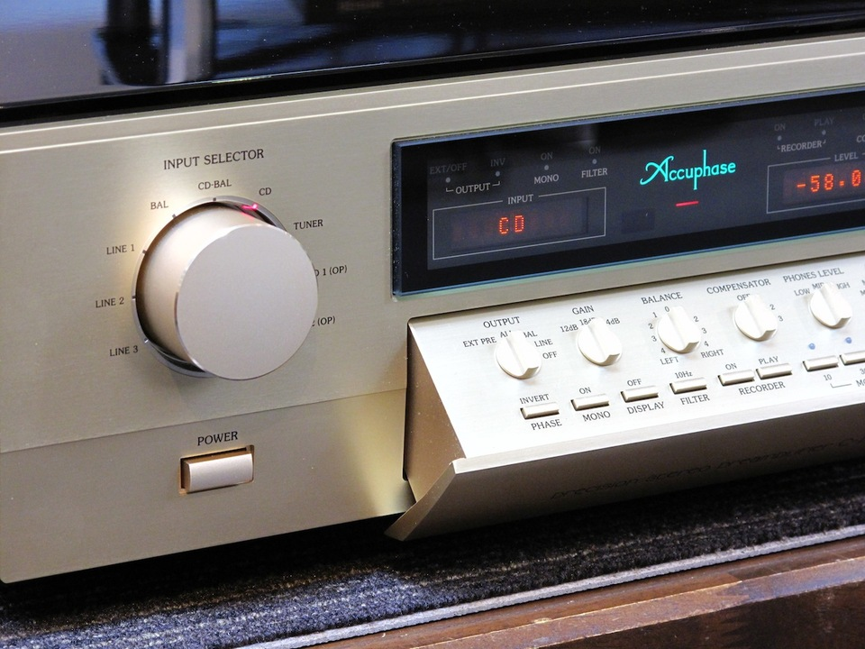C-2820 Accuphase アキュフェーズ コントロールアンプ(トランジスター) 画像e