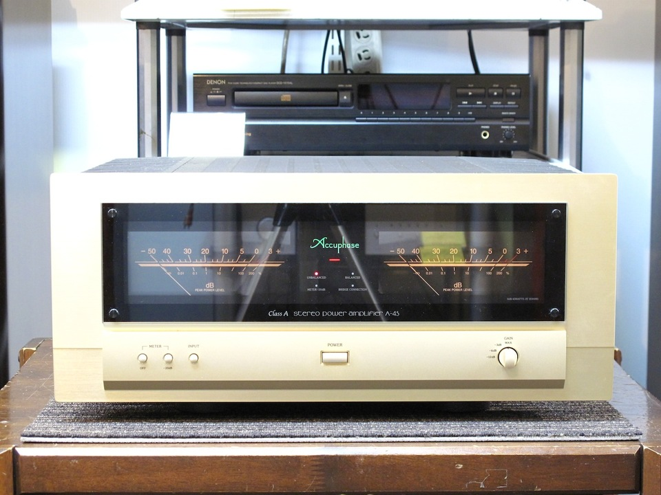 A-45 Accuphase アキュフェーズ パワーアンプ(トランジスター) 画像a