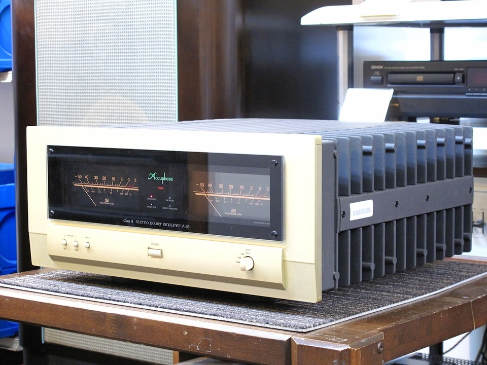 A-45 Accuphase アキュフェーズ パワーアンプ(トランジスター) 画像c