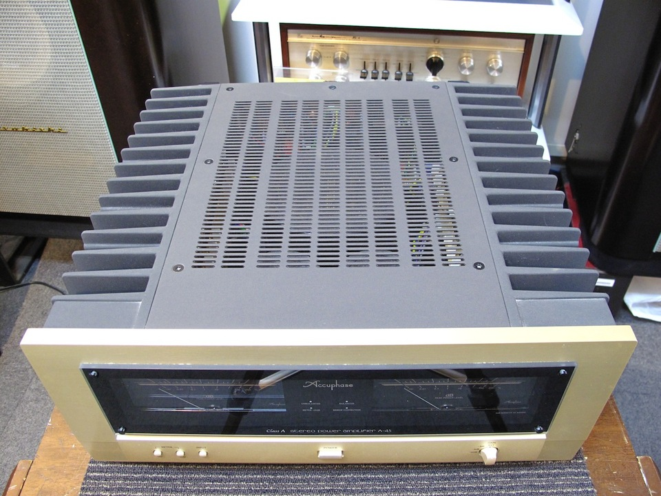A-45 Accuphase アキュフェーズ パワーアンプ(トランジスター) 画像d