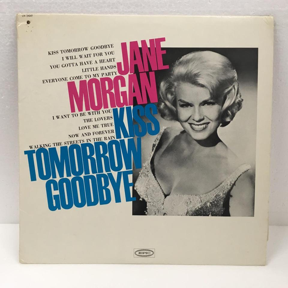 KISS TOMORROW GOODBYE/JANE MORGAN JANE MORGAN  LPジャズボーカル 画像a