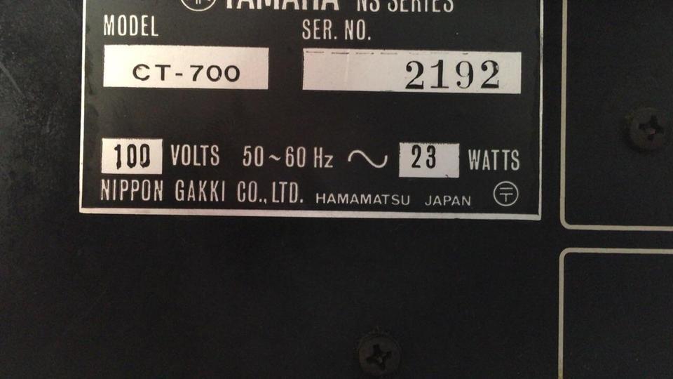 CT-700 YAMAHA 画像