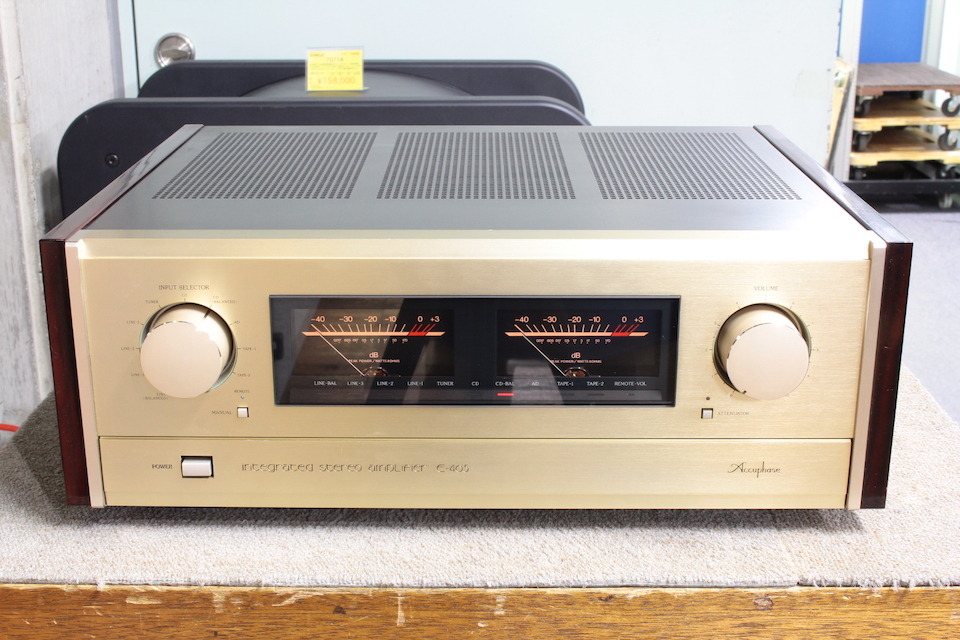E-405 Accuphase 画像