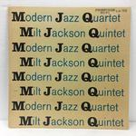 THE MODERN JAZZ QUARTET/MILT JACKSON QUINTET