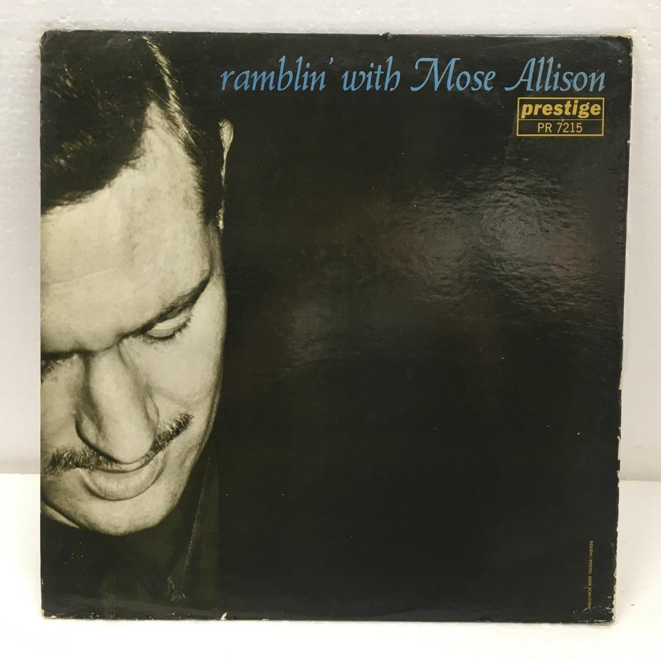 RAMBLIN' WITH MOSE/MOSE ALLISON MOSE ALLISON 画像