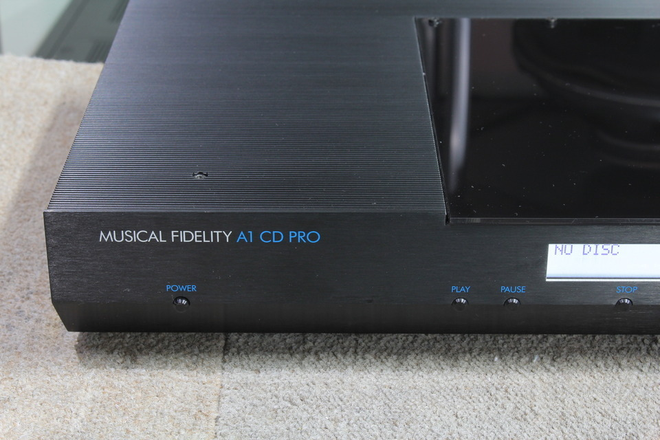 A1 CD PRO MUSICAL FIDELITY フィデリティリサーチ CDプレーヤー 画像f
