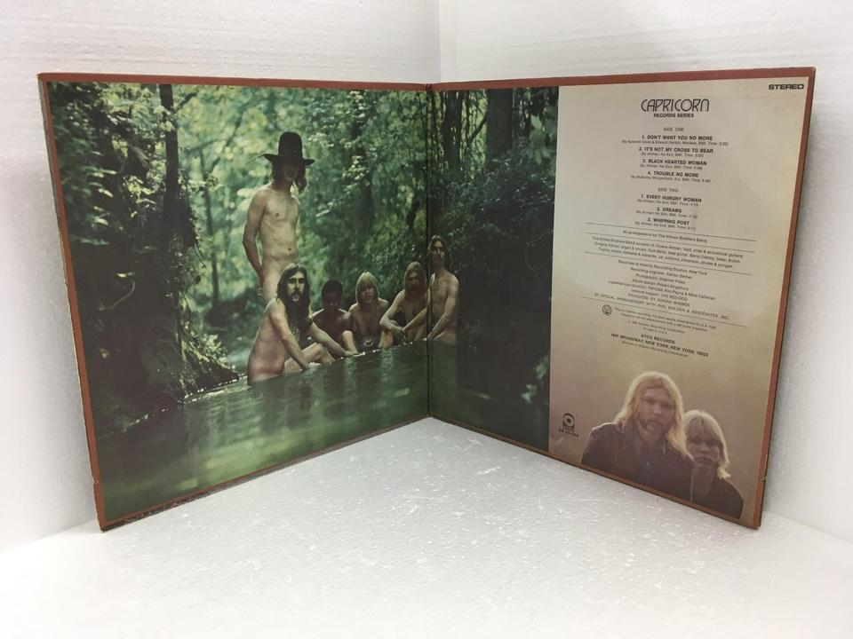 THE ALLMAN BROTHERS BAND THE ALLMAN BROTHERS BAND  LP洋楽 画像e