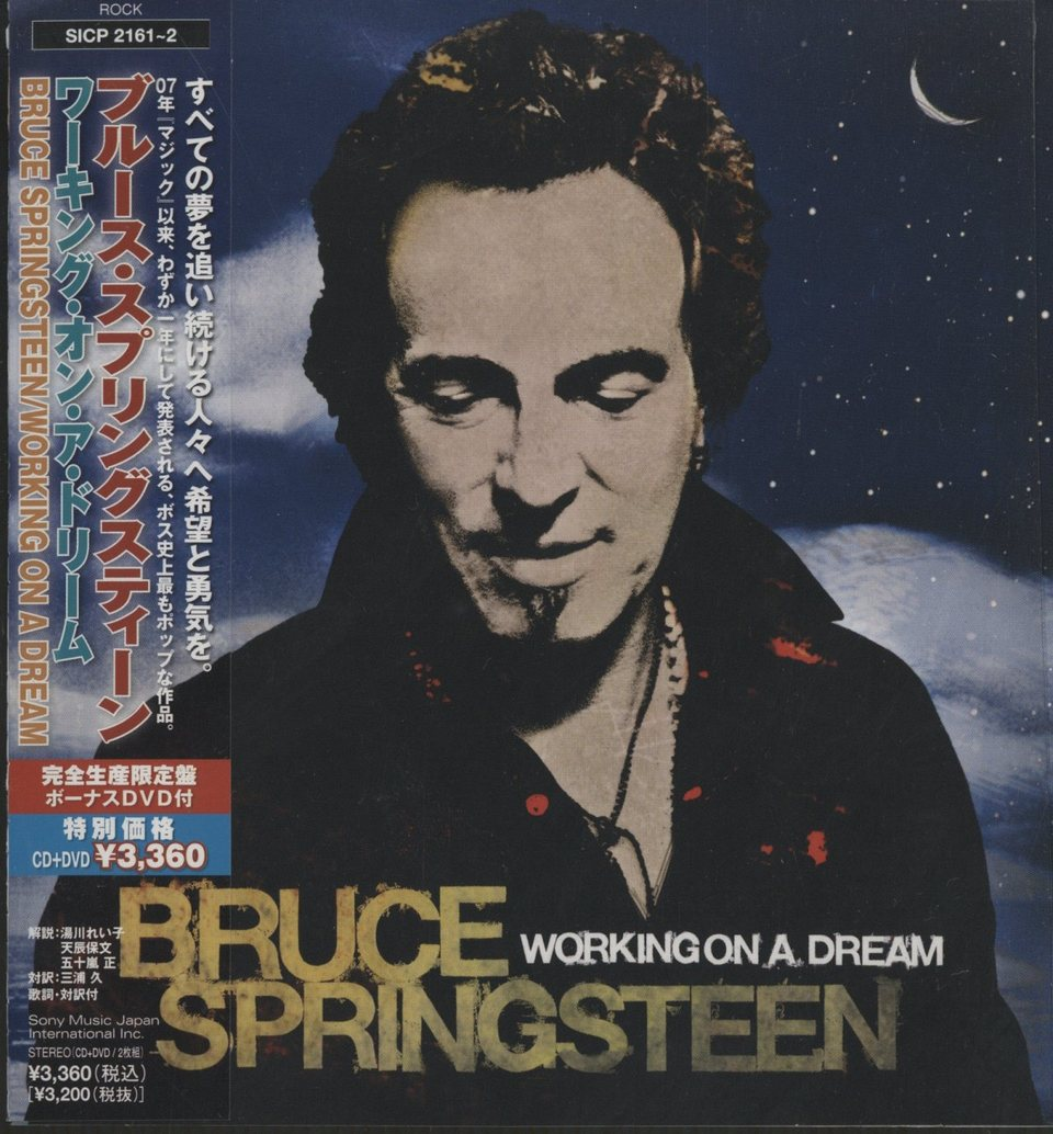 WORKING ON A DREAM/BRUCE SPRINGSTEEN  画像