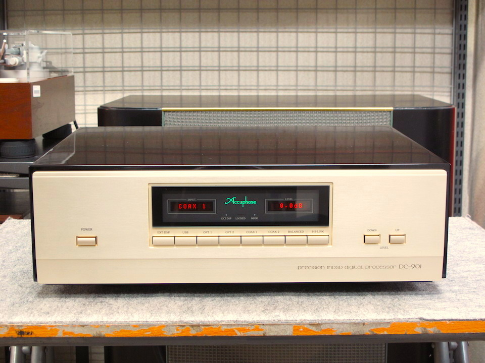 DC-901 Accuphase アキュフェーズ D/Aコンバータ 画像a
