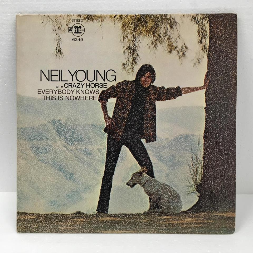 EVERYBODY KNOWS THIS IS NOWHERE/NEIL YOUNG WITH CRAZY HORSE NEIL YOUNG WITH CRAZY HORSE  LP洋楽 画像a