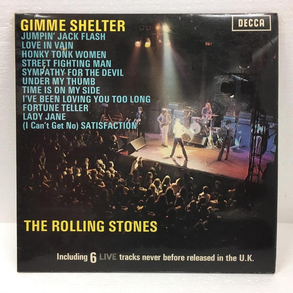 GIMME SHELTER/ROLLING STONES ROLLING STONES  LP洋楽 画像a