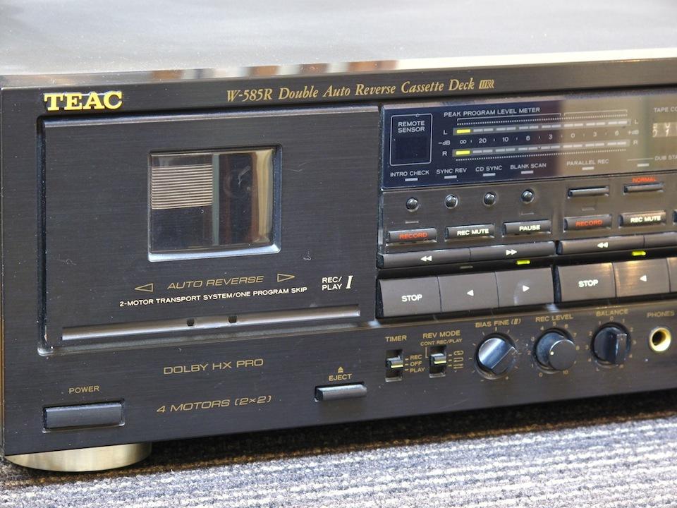 W-585R TEAC 画像