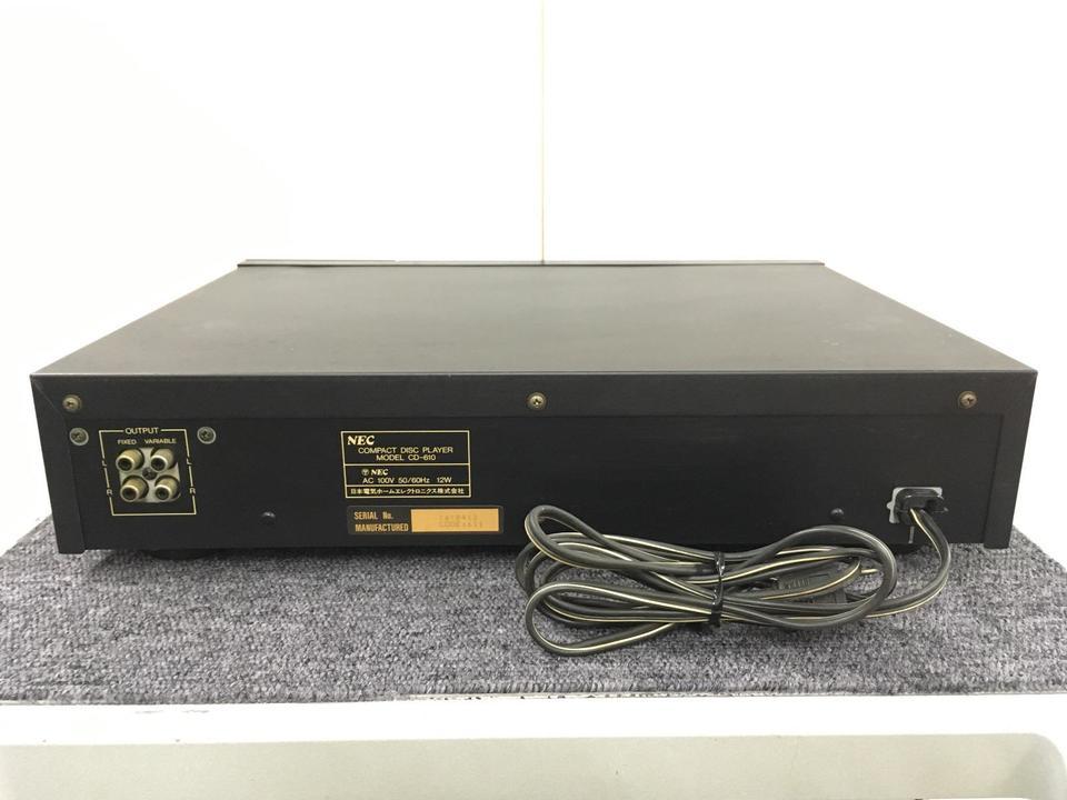 CD-610 NEC 画像