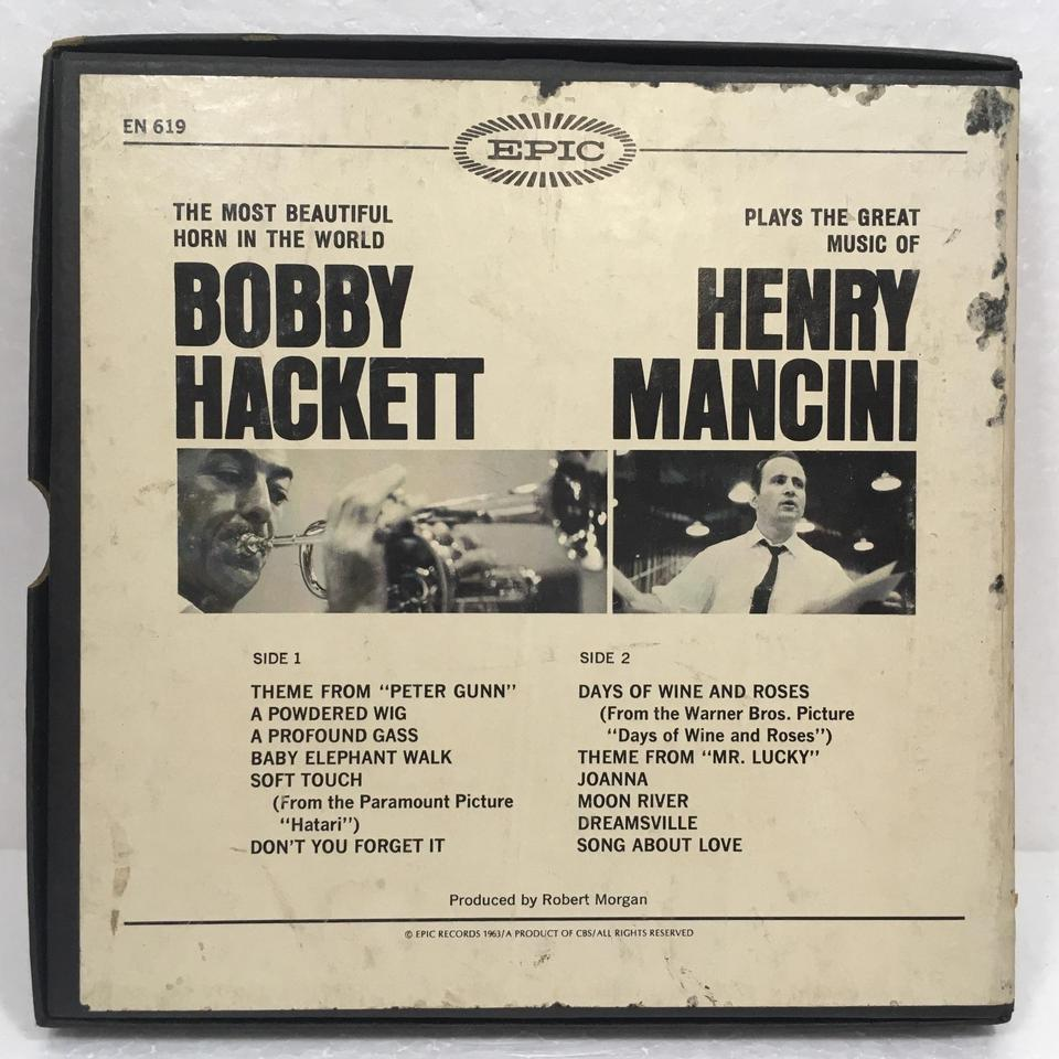 THE MOST BEAUTIFUL HORN IN THE WORLD PLAYS THE GREAT MUSIC OF HENRY MANCINI/BOBBY HACKETT BOBBY HACKETT 画像