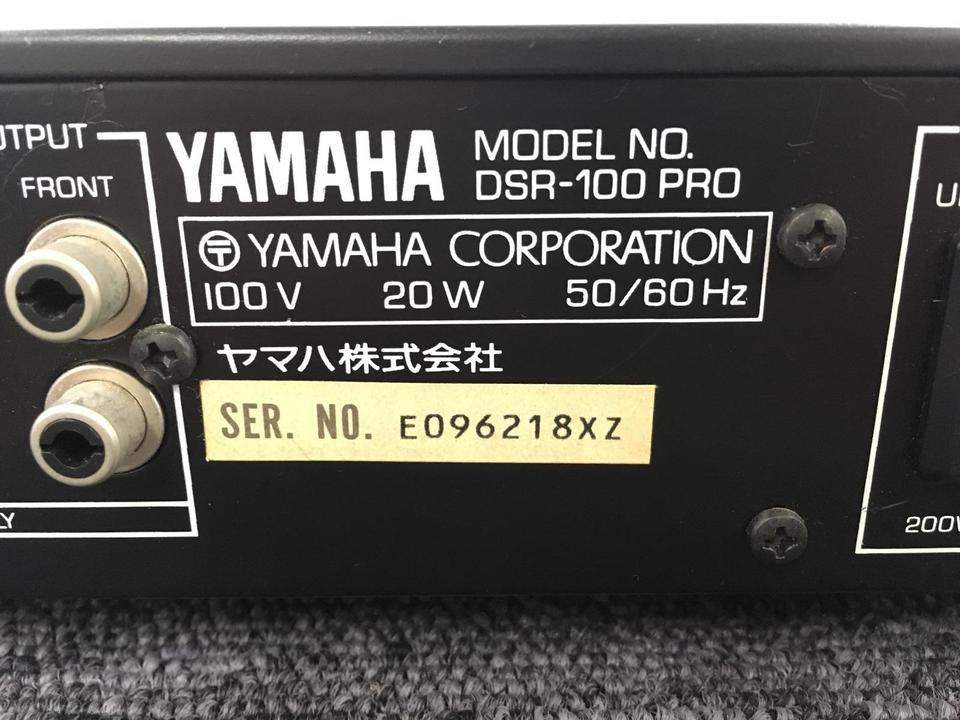DSR-100PRO YAMAHA 画像
