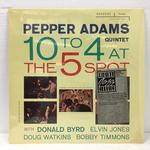10 TO 4 AT THE 5-SPOT/PEPPER ADAMS