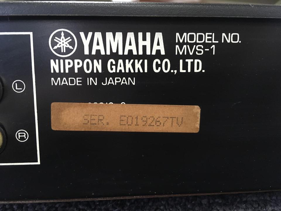 MVS-1 YAMAHA 画像